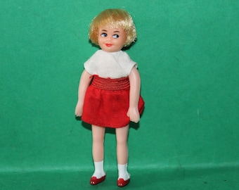 Vintage Dolls House Triang Jenny's Home Jenny Doll With Blonde Hair 1960's KM1016