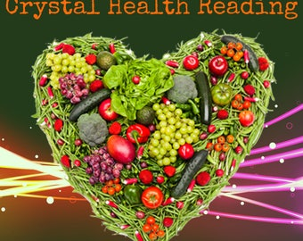 1 Card Crystal Card HEALTH Reading! Special Etsy Price!