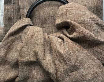 Brown Chambry Linen Sling