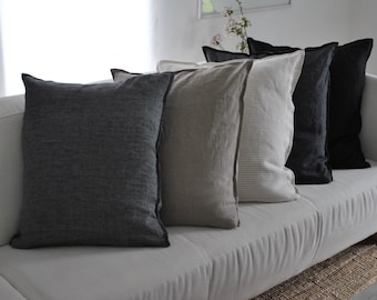 100% finest Linen cushion in many different colors and sizes available, free shipping for less then 3 cushions