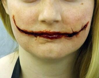 Joker Scars Prosthetic Chelsea Smile