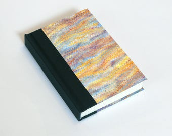 "Sketchbook 4x6"" with motifs of marbled papers - 11"
