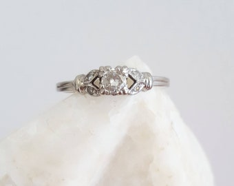 Vintage engagement ring, vintage diamond ring, engagement ring, diamond ring