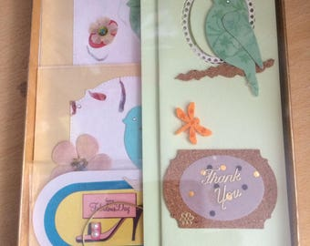 Cards with sentiments for Thank You & Thinking of You