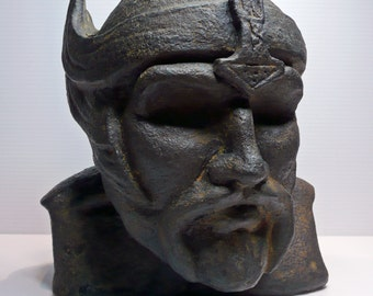 THOR - Viking God of Thunder. Cold Cast Iron casting. LIMITED EDITION #5 of 10