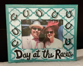 Day at the Races picture frame