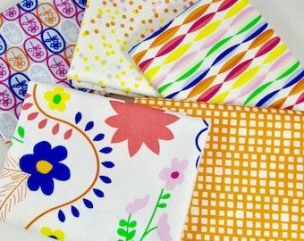 Fat Quarter Bundle, 5 Pieces - Fiesta Fun by Art Gallery Fabric