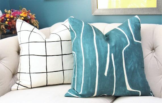 pillows cover in kelly bazaar wearstler bengal pillow x jade pin