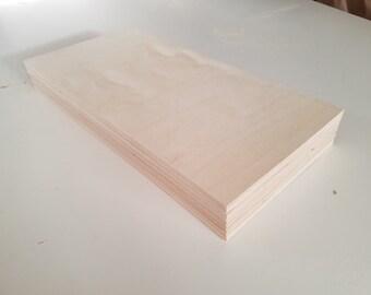 "1/8"" Birch 12x24 (24 Sheets) Baltic Birch Plywood 3mm"