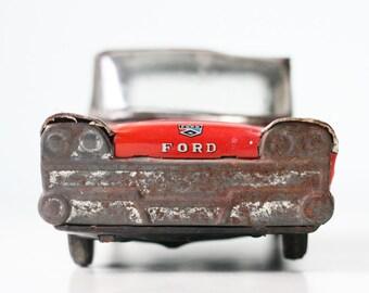 Vintage Ford Toy Car, Emergency, 8