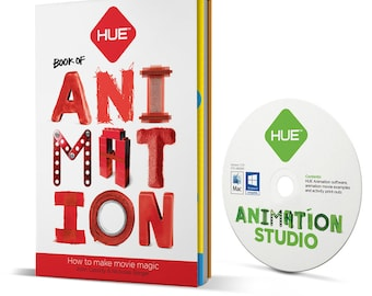 The HUE Book of Animation (includes HUE Animation software)