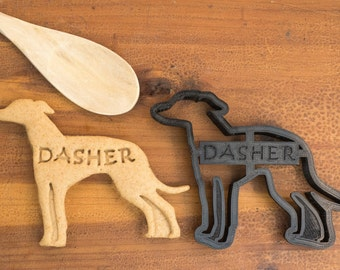 Whippet Cookie Cutter Custom Treat Personalized Pet
