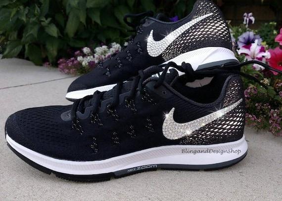 Bling Swarovski Nike Air Zoom Pegasus 33 Women s Nike 607c47bc126a