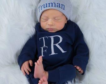 Newborn Boy Coming Home Outfit Newborn Boy Outfit Newborn Boy Photo Outfit Newborn Boy Clothes Newborn Boy Gift Newborn Boy Winter Clothes