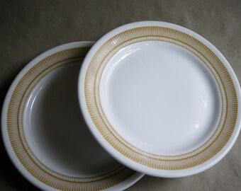 & Retro dinner plates | Etsy