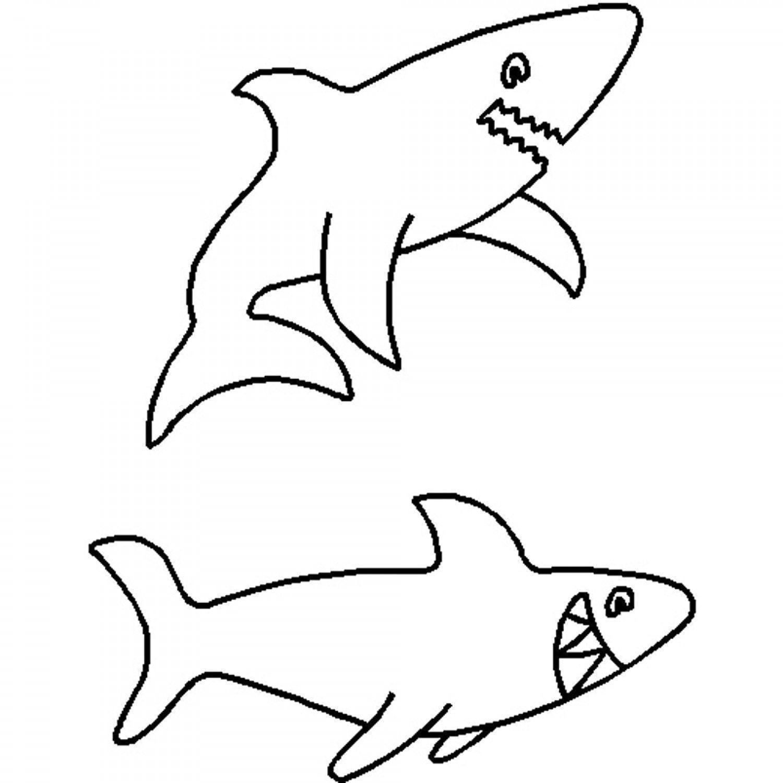 Vorstellung Schablone Vorlage: Haie Quilten Schablone