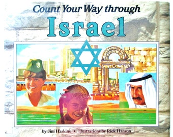 Counting Book, Count Your Way Through Israel, Vintage Children
