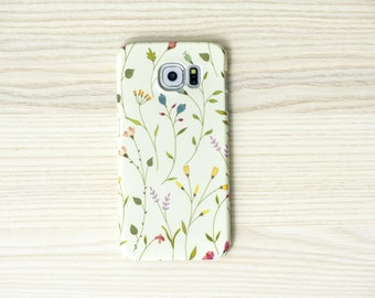 Floreale iPhone 6 iPhone floreale caso 7 caso floreale Samsung Galaxy S7 caso galaxy S6 bordo caso nota 5 caso İphone 6 Plus caso LG G4 caso floreale