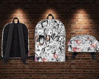 Ahegao backpack the lewdest bookbag on the market