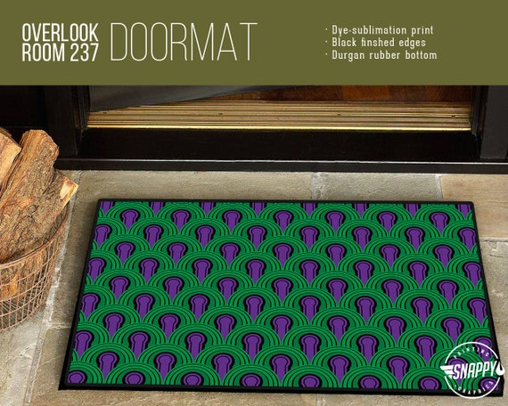 Overlook Hotel Room 237 Carpet Pattern Welcome