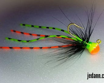 Size 8-1/32 oz UV Glow Fishing Jig