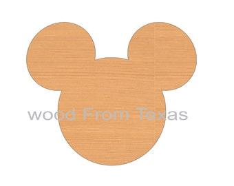 Mickey Mouse Head Shape