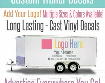 Custom Trailor Decal-Vinyal Car Decal-Mobile Boutique