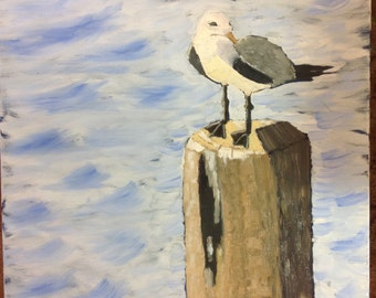 "The Lookout, 20""x24"", oil painting by Sharon James"