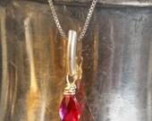 Ruby Pendant/Necklace - l...