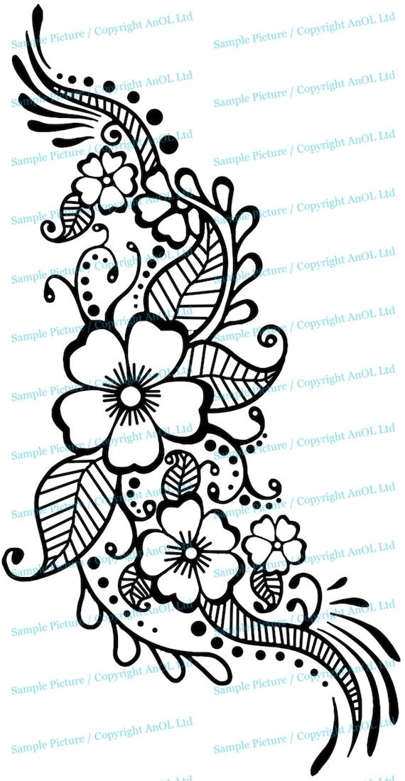 How to draw flower designs on paper akbaeenw henna flower designs on paper military bralicious co how mightylinksfo