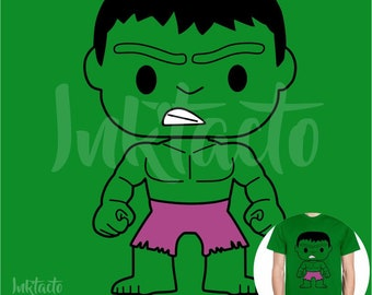 Vector, image Hulk Pop Pack ZIP different formats SVG, AI for cutting, stamping and more.