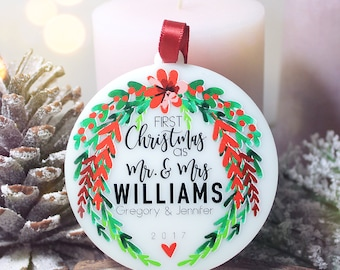 personalized christmas ornaments custom ornaments etsy 11867