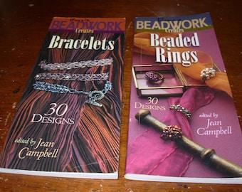 Beadwork Creates Bracelets & Beadwork Creates Beaded Rings Jean Campbell