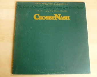 The Best Of David Crosby and Graham Nash Vinyl Record LP AA-1102 ABC Records 1978