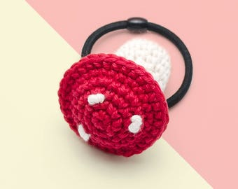 Crochet the Mushroom hair band/ Party Gifts/ Colorful Gifts