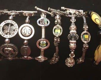 Fully custom Beaded Bracelets