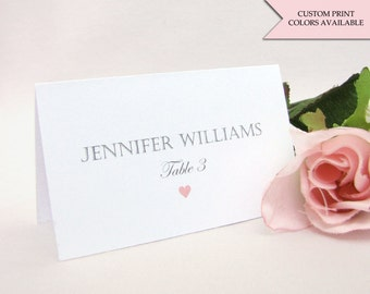 Place cards - Wedding place cards - Elegant place cards - Placecards - Place cards wedding - Elegant wedding signs