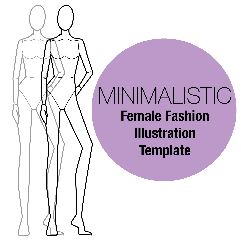 Female Croquis/Fashion Croquis/Fashion Design Templates/Female