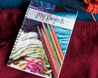 Knitting / Crocheting Project Journal - Get Organized - Great Gift