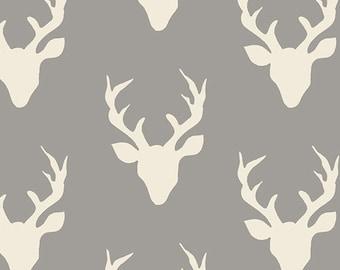 Hello Bear - Buck Forest Mist - Bonnie Christine - Art Gallery Fabrics (HBR-4434)