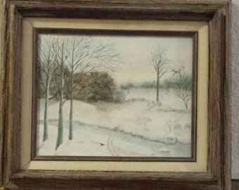 Winter Morning 1986