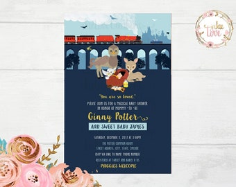 Harry Potter Baby Shower Invitation