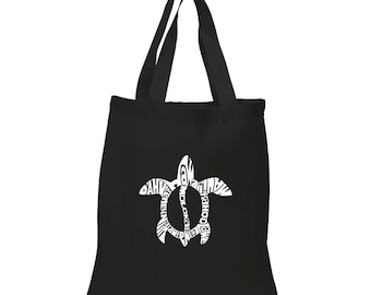 Small Tote Bag - Honu Turtle - Hawaiin Islands