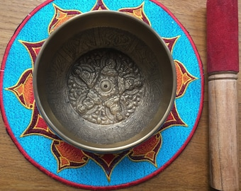 Tibetan Five Buddha Singing Bowl
