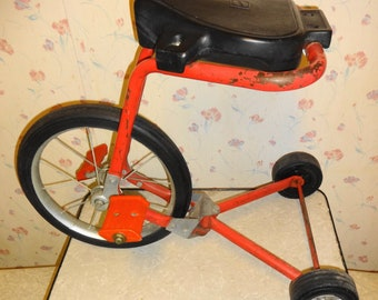 1972 Lean Machine Bike Ride on Toy. by Mattel. Tricycle