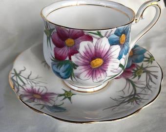 Royal Albert china tea cup and saucer