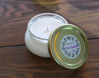 Au Naturale - Natural Unscented Soy Candle - 3oz