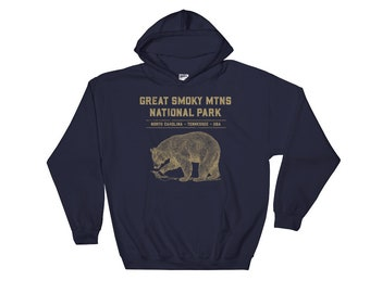 Smoky Mountains Hoodie - Smoky Mountains Shirt - Great Smoky Mountain - Smoky Mountain - Smokey Mountains - Great Smoky - Smoky Mountain