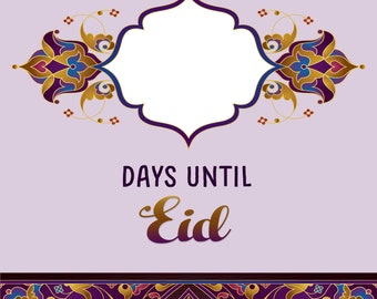 Eid Countdown Downloadable File