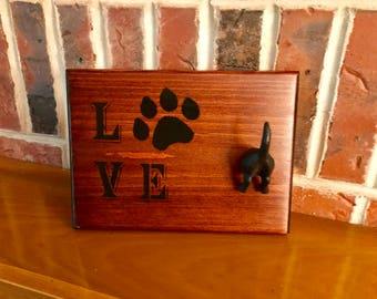 Dog Leash Hook, Dog Leash Holder, Key Hook, Dog Leash Hanger, Dog Gifts, Gifts for Pets